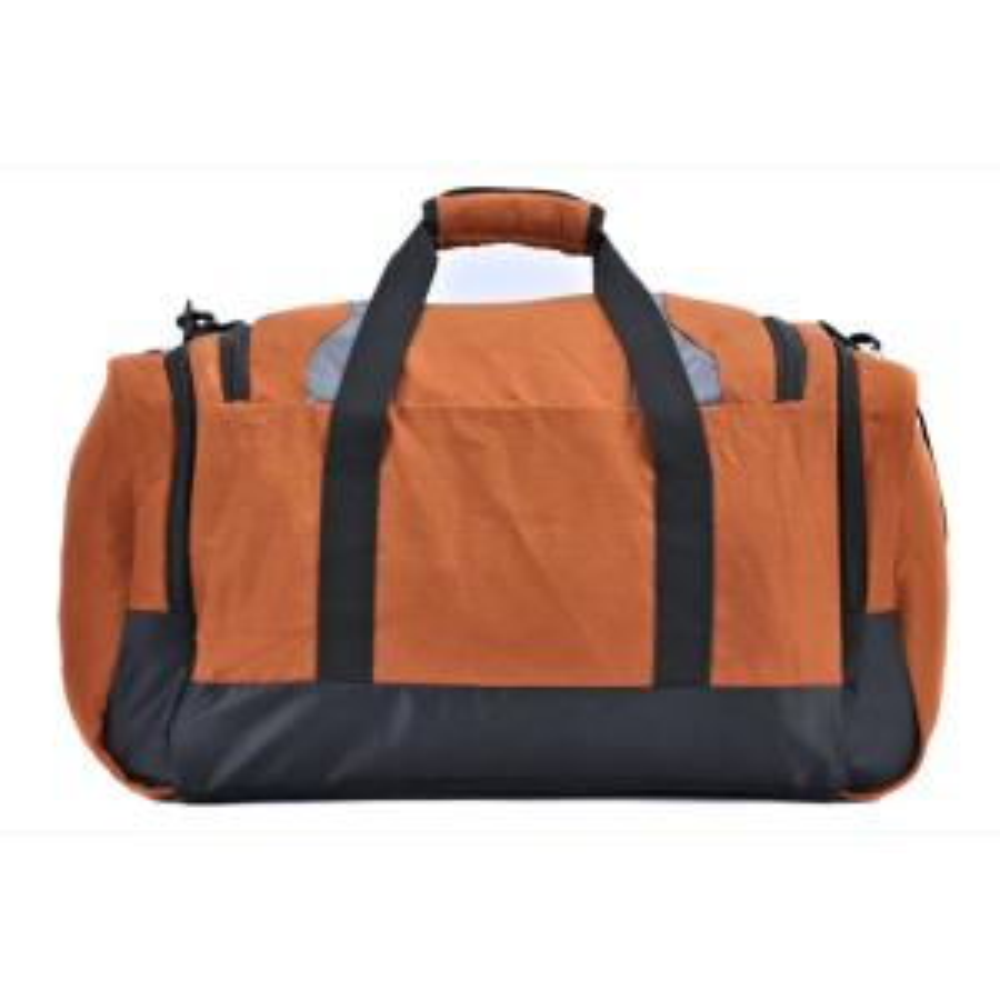 10 Wrangler 28 In Burnt Orange Multi Pocket Sport Duffel Bag