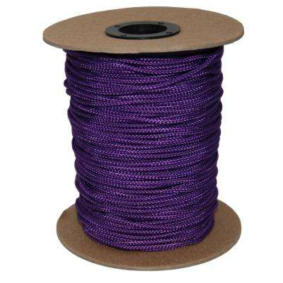 3/32 in. #3 Sidewall 300 ft. - Purple