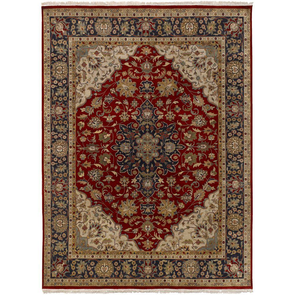 Artistic Weavers Beverly Burgundy 8 ft. 6 in. x 11 ft. 6 in. Area Rug