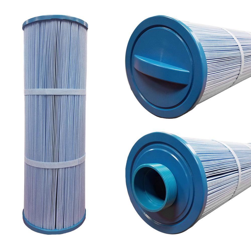 75 sq. ft. 5 in. x 17 in. Hot Tub Antibacterial Filter Fine Male Thread Cartridge
