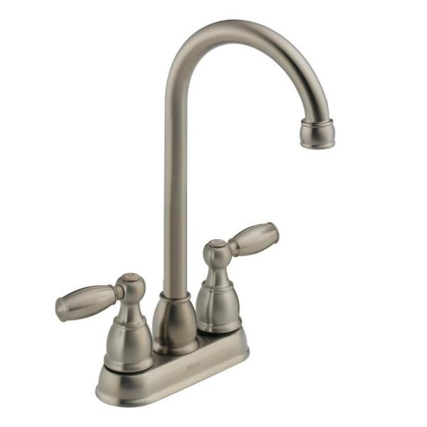 Foundations 2-Handle Bar Faucet in Stainless