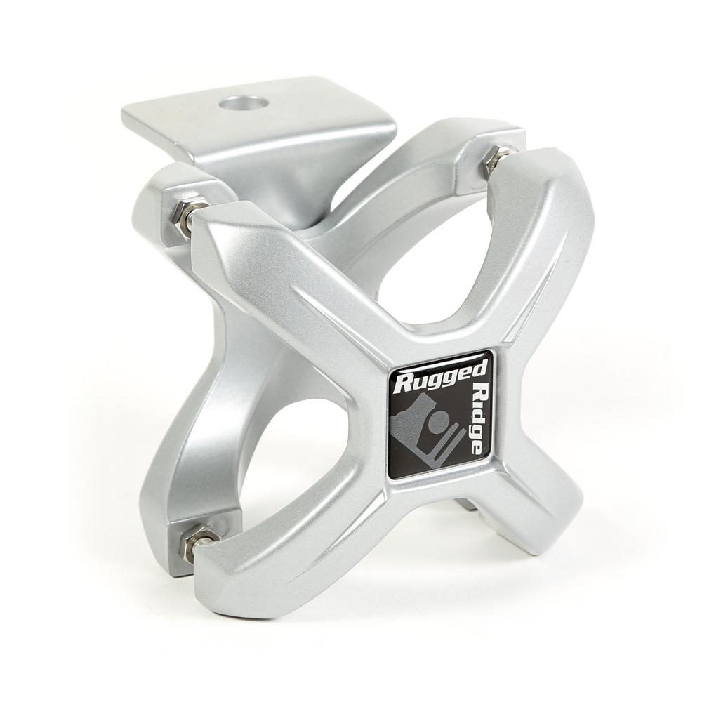 Large X-Clamp Light Mount with Silver Finish