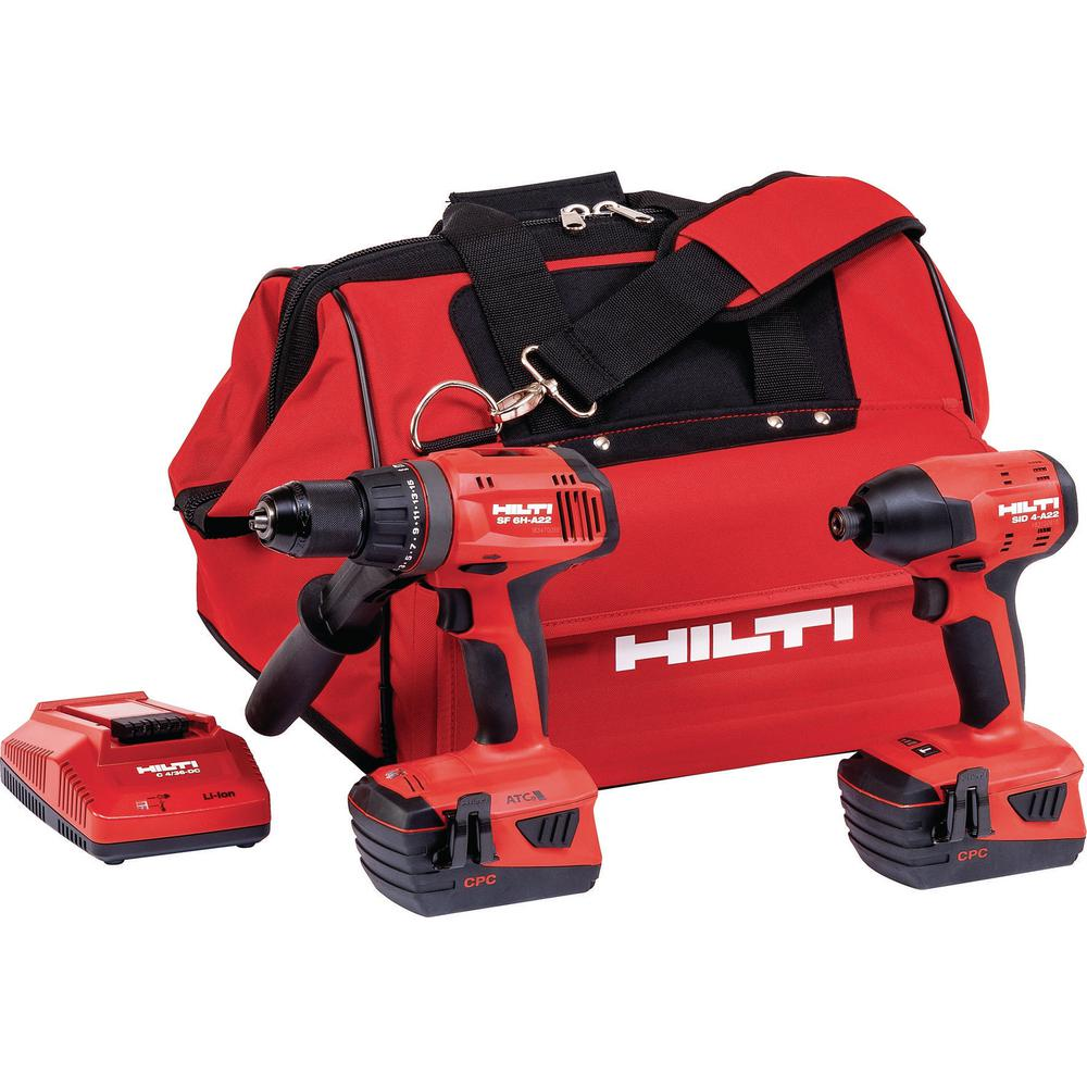 hilti 12 volt lithium ion cordless rotary impact driver. Black Bedroom Furniture Sets. Home Design Ideas