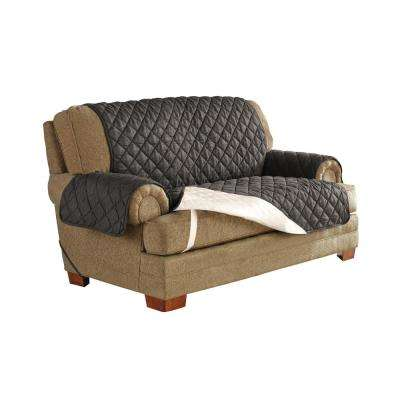 Graphite Ultimate Waterproof Furniture Protector Treated with NeverWet Loveseat