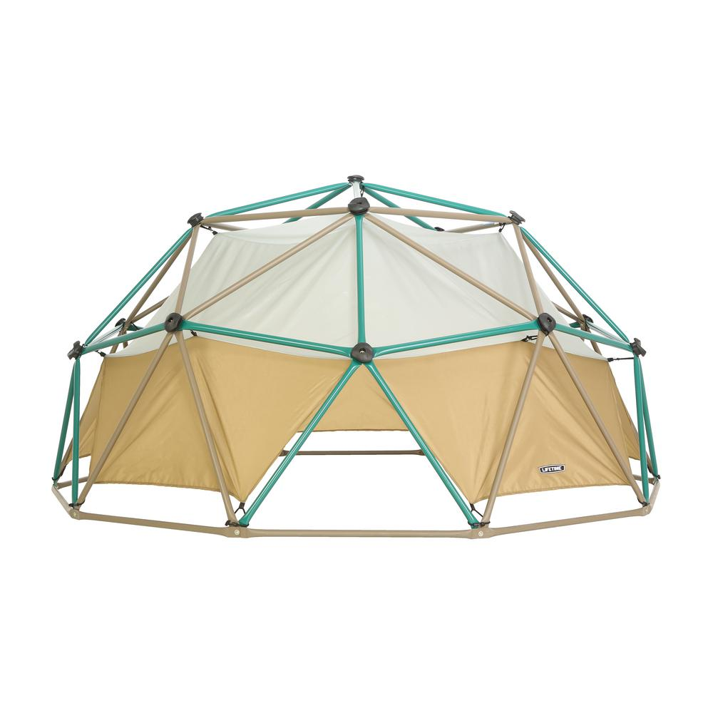 Lifetime 5 ft. Earth Tone Dome Climber in Earth-Tones with Canopy ...