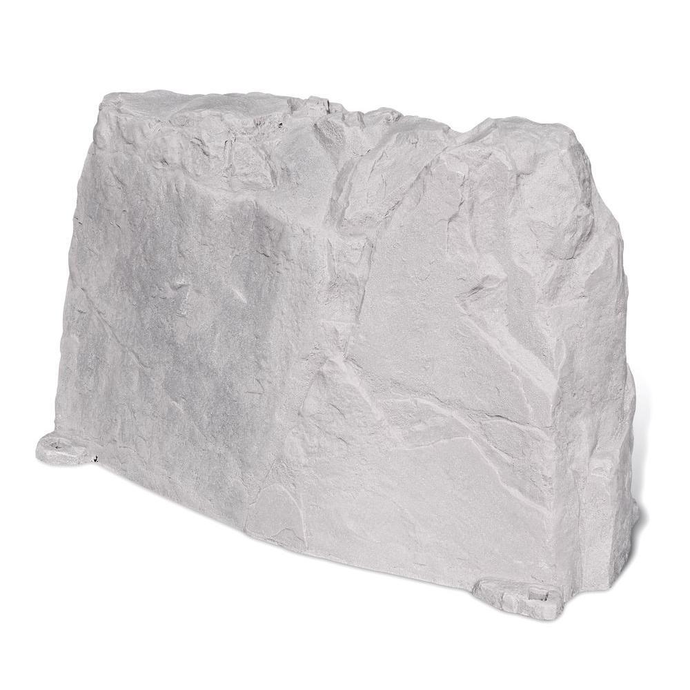 48 in. L x 20 in. W x 30 in. H Long Plastic Cover in Gray
