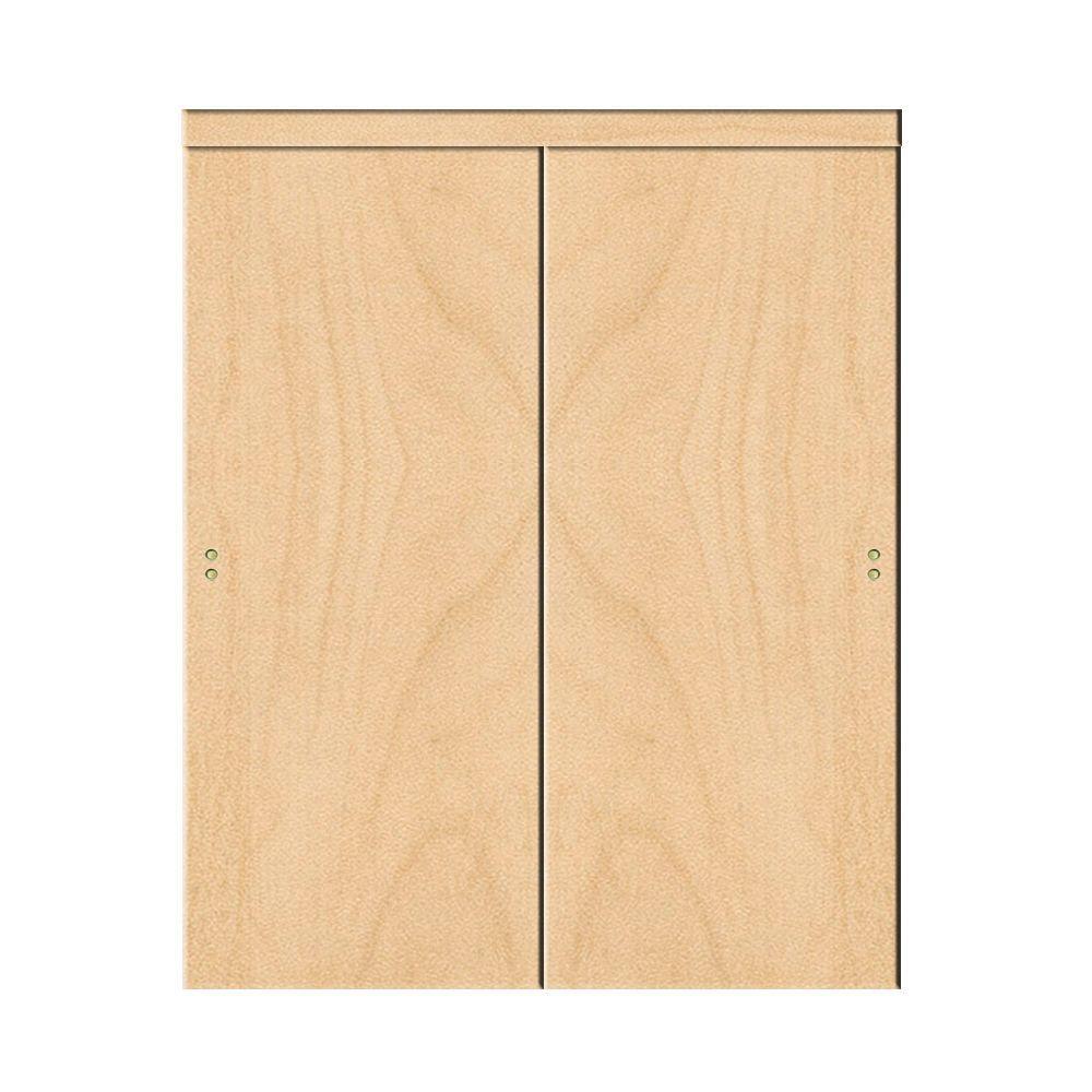 2 Panel 48 X 80 Sliding Doors Interior Closet Doors The