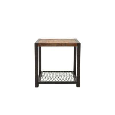 Bowery Natural Wood End Table