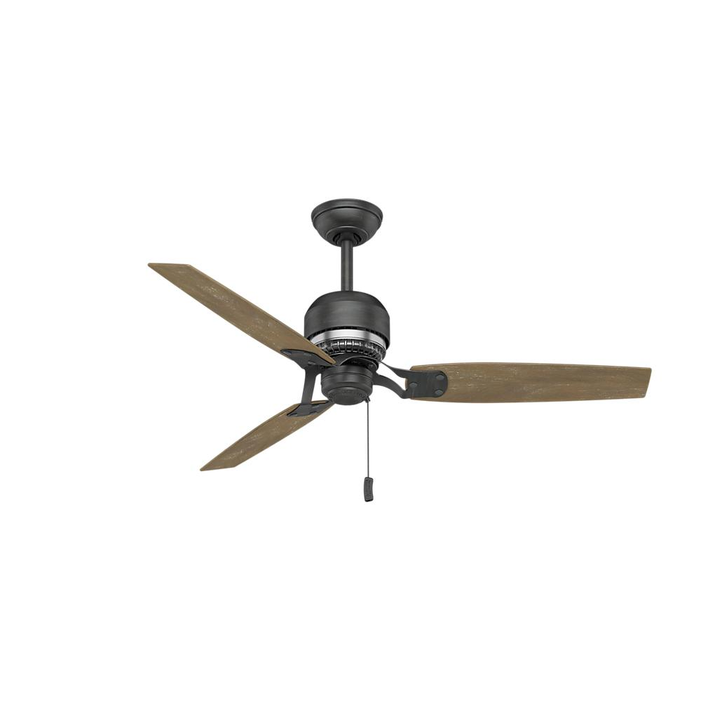 Stainless steel ceiling fans lighting the home depot indoor aged steel ceiling fan aloadofball Choice Image