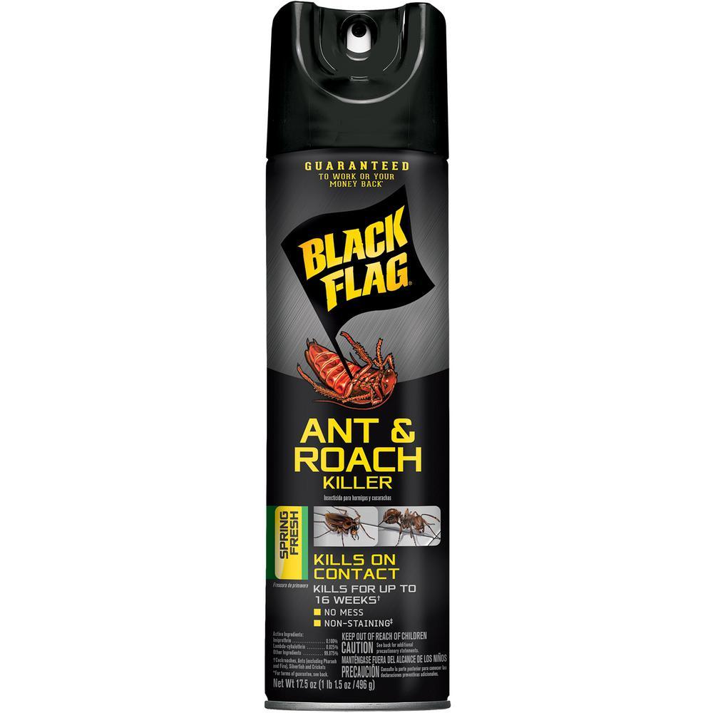 Ant and Roach Killer 17.5 oz. Aerosol Spring Fresh Scent Spray
