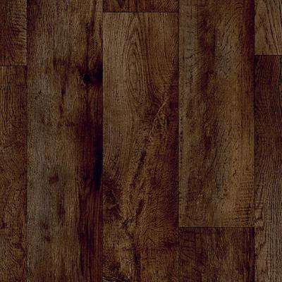 Charlotte Oak Java 13.2 ft. Wide x Your Choice Length Residential and/or Commercial Vinyl Sheet Flooring