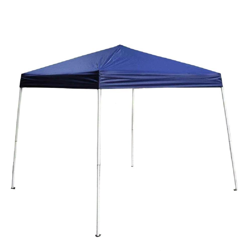 8 ft. x 8 ft. Blue Gazebo Canopy Tent
