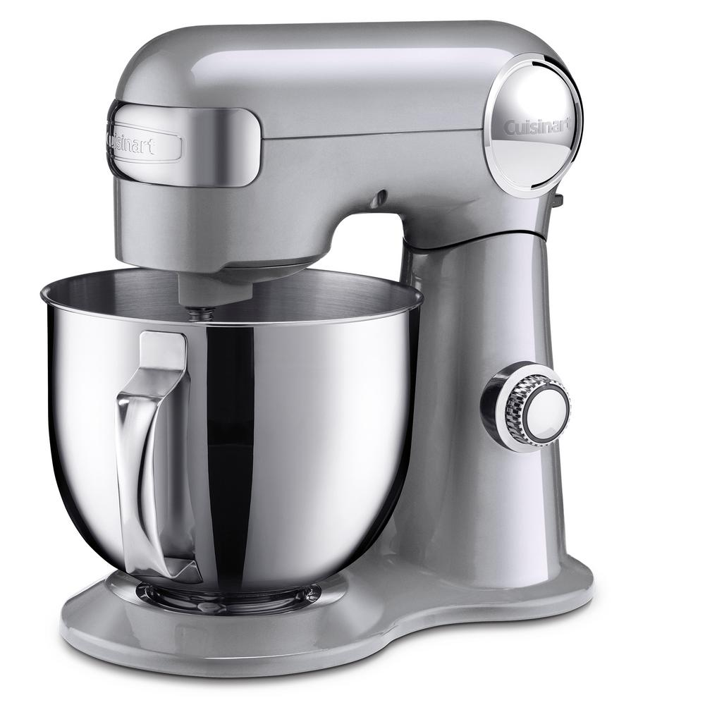 Cuisinart 5.5 Qt. 12-Speed Brushed Chrome Stand Mixer