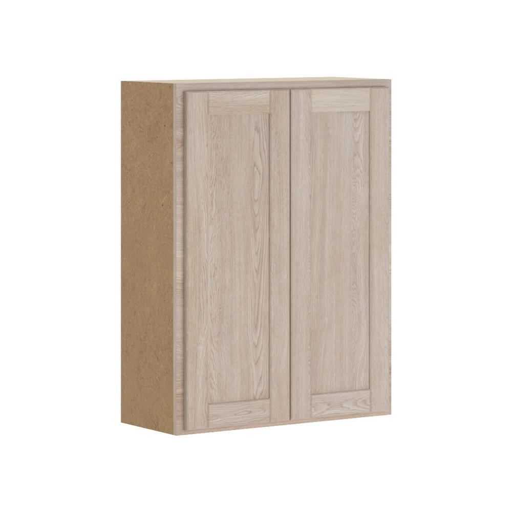 Hampton Bay Stratford Assembled 27x36x12 In Wall Cabinet