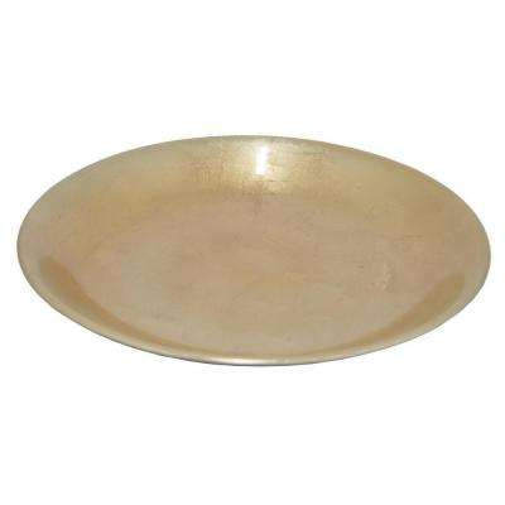 Gold Champagne Ceramic Plate