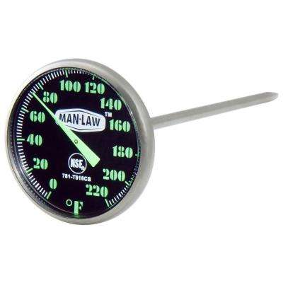 BBQ Series Instant Read Thermometer with Glow in Dark Dial