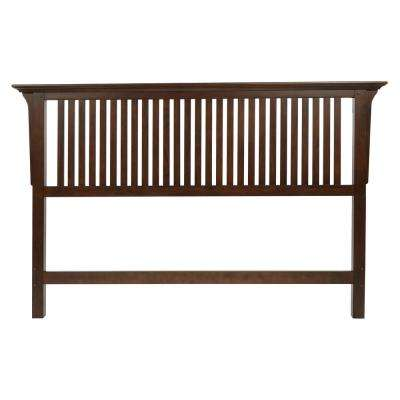 Modern Mission Oak King Headboard In Vintage