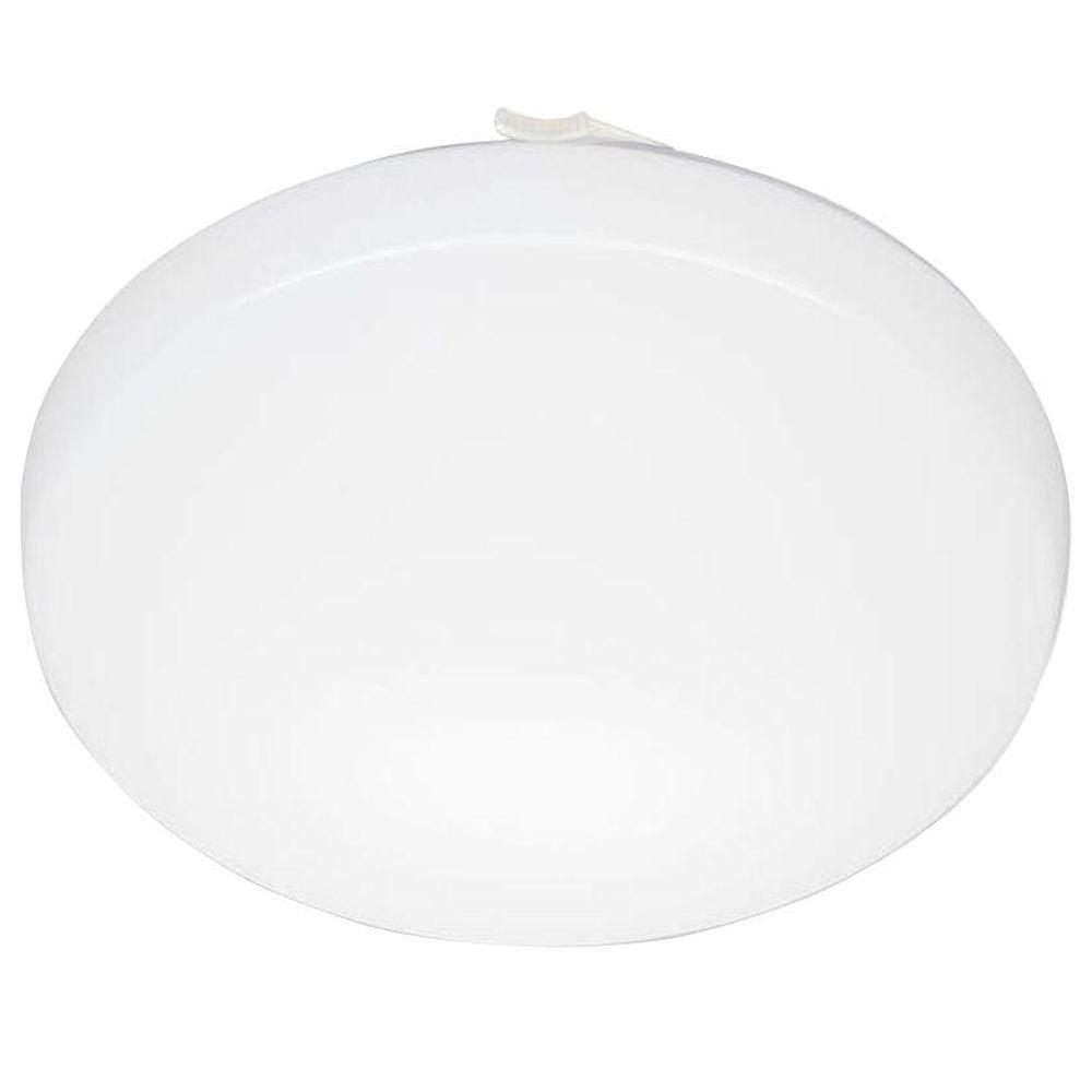Lithonia Lighting 11 in. Round Low-Profile White Integrated LED Flush Mount