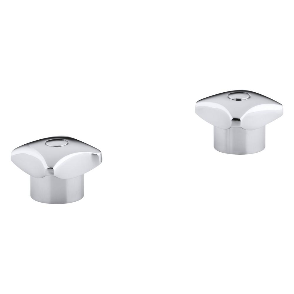 KOHLER Triton Pair of Standard Handles in Polished Chrome-K-16010 ...