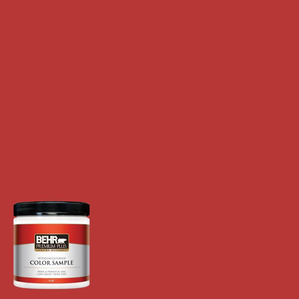 BEHR Premium Plus 8 oz. #S-G-170 Licorice Stick Interior/Exterior Paint Sample