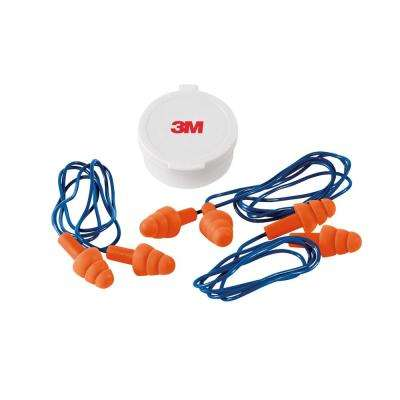 Reusable Corded Ear Plugs (3-Pack) (Case of 10)