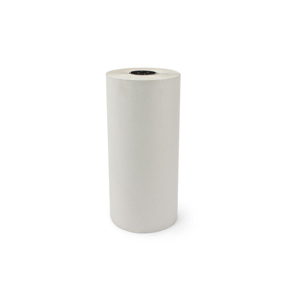 18 in. x 1695 ft. 30# White Newsprint Roll