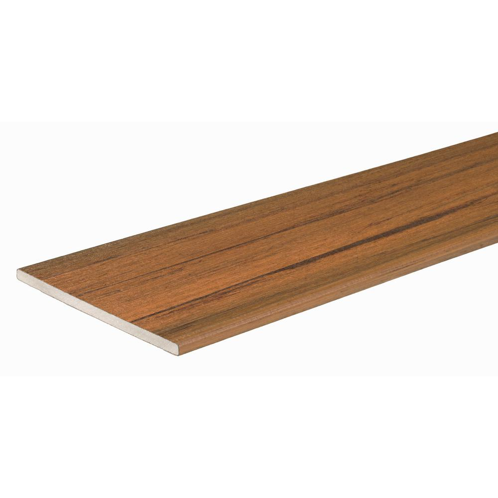 TimberTech Legacy Collection 9/16 in. x 12 in. x 12 ft. Tigerwood ...