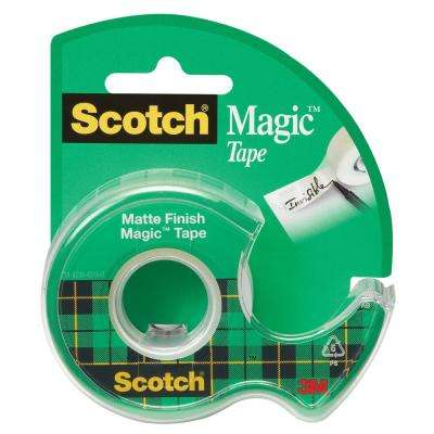 Scotch 0.75 in. x 500 in. Magic Tape with Dispenser