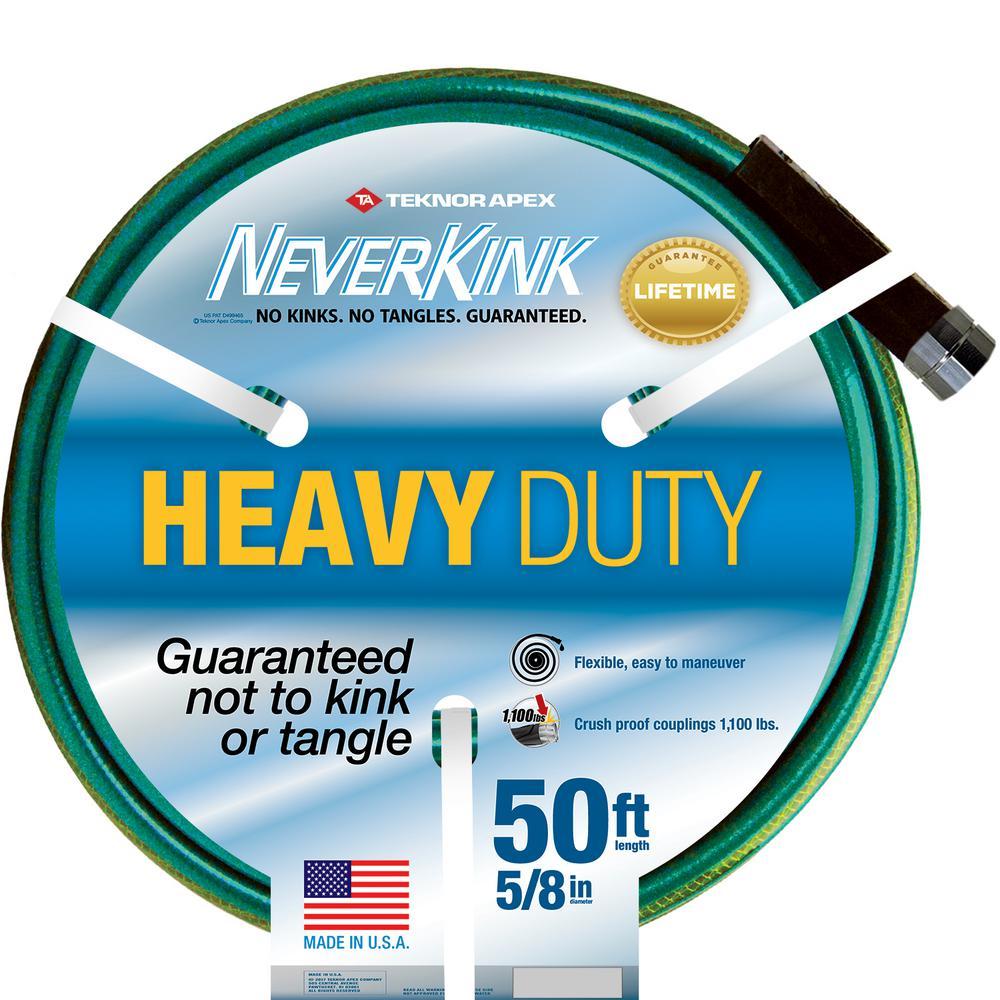 Teknor Apex 5/8 in. Dia x 50 ft. Heavy Duty Water Hose
