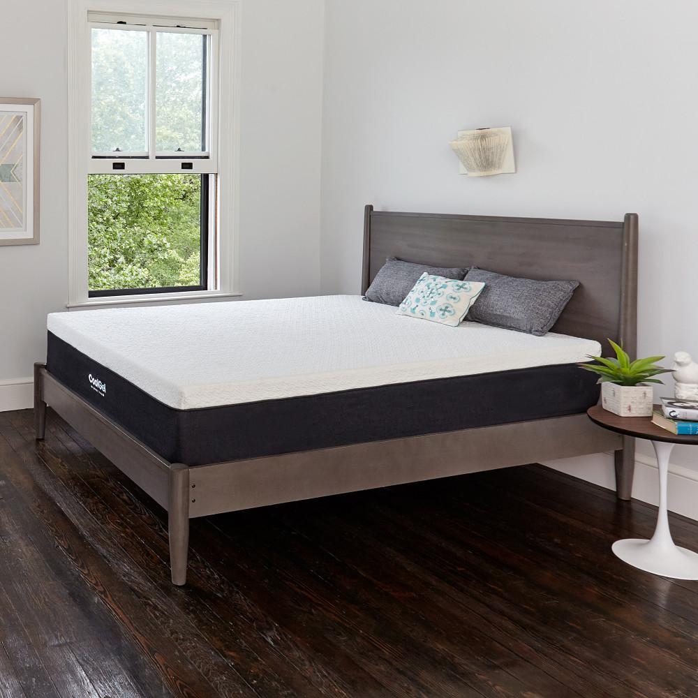 Cool Gel Queen Size 12 in. Gel Memory Foam Mattress | Shop Your