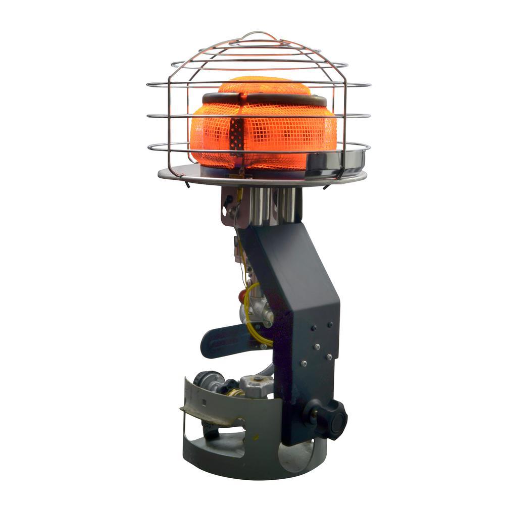 45,000 BTU 540-Degree Radiant Propane Tank Top Portable Heater