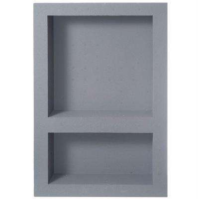 Fin Pan PreFormed 15.75 in. W x 23.75 in. H x 4 in. D Standard Wide Double Niche