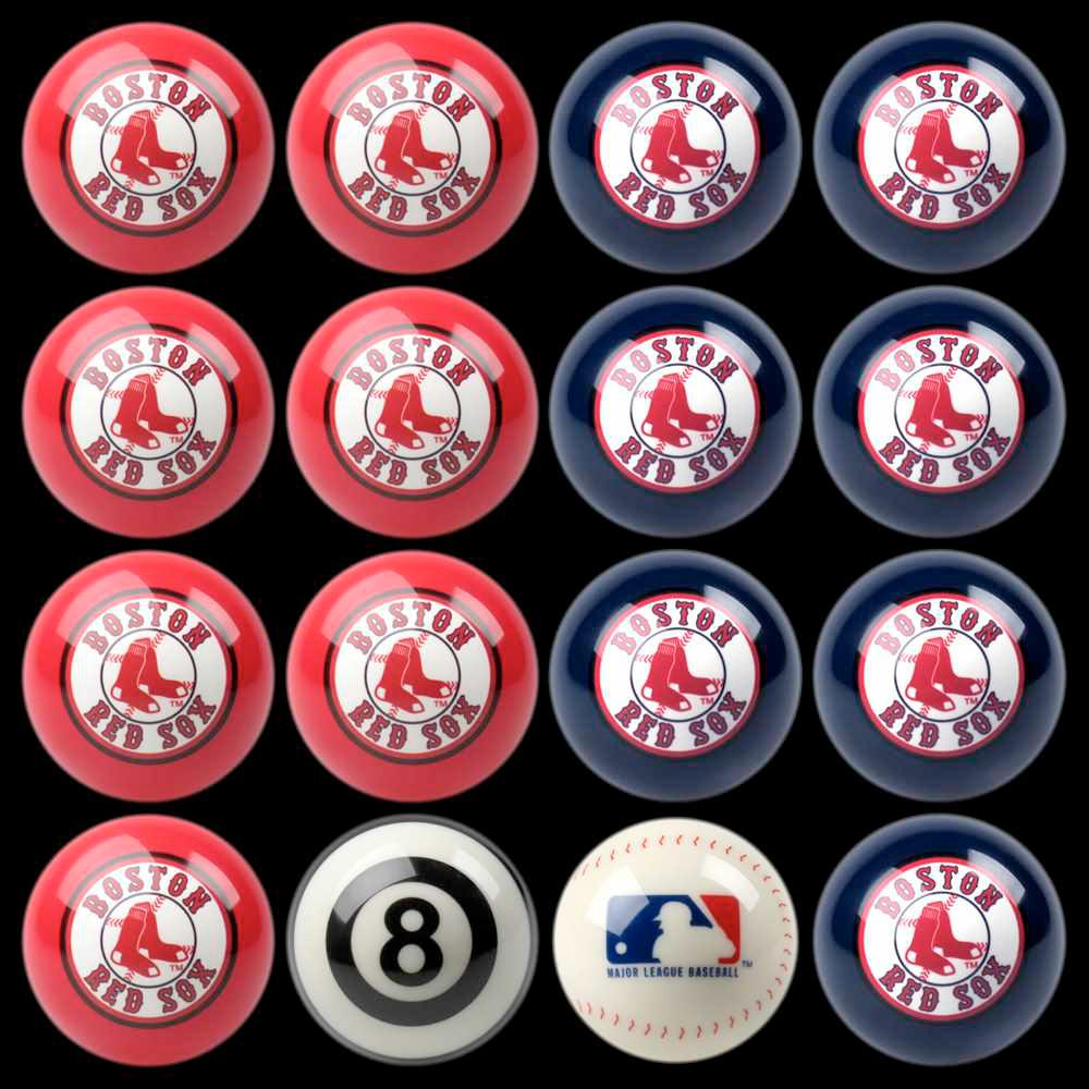 Superieur Boston Red Sox Home Vs Away Billiard Ball Full Set Of 16