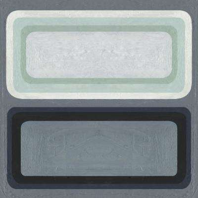 "84 in. x 84 in. ""Maritime Color Field II"" by Emma Scarvey Canvas Wall Art"
