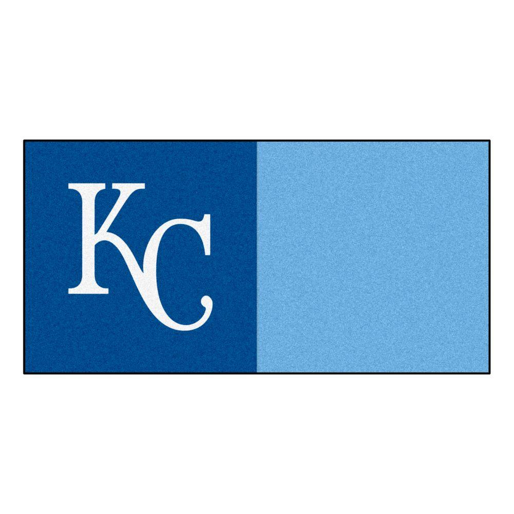MLB - Kansas City Royals Blue and Blue Nylon 18 in.