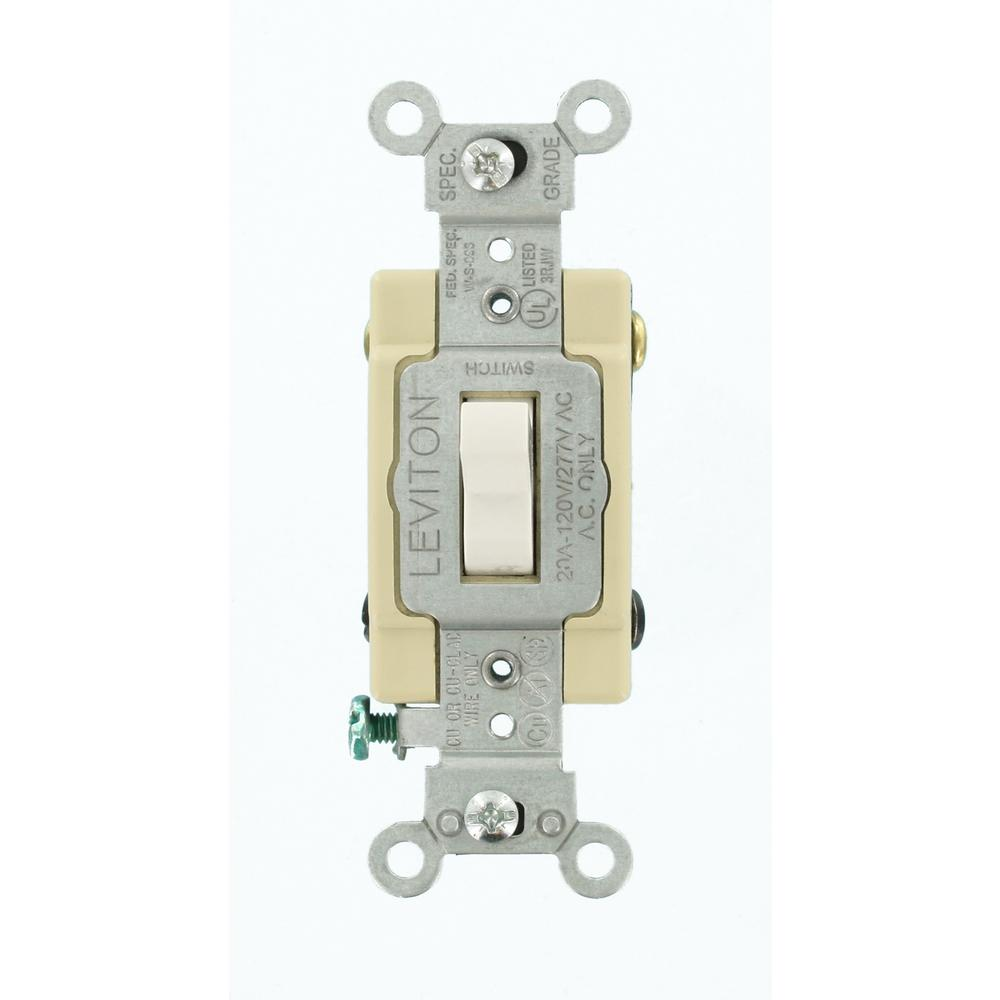 white-leviton-switches-1224-sw-64_1000  Way Switch Home Depot on
