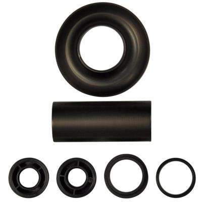 Universal Tub/Shower Flange Set in Oil Rubbed Bronze
