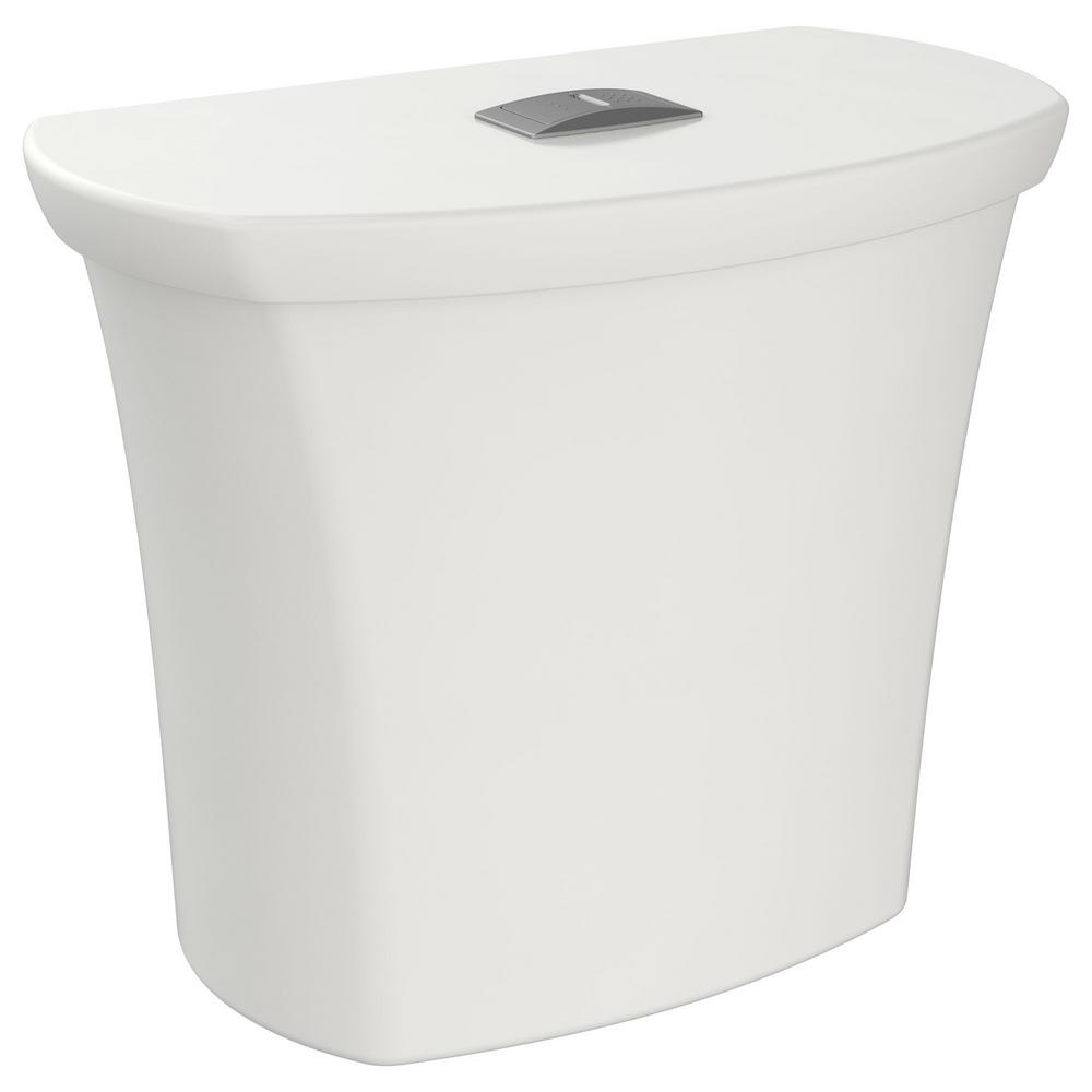 American Standard Edgemere 1 1 1 6 Gpf Dual Flush Toilet Tank Only In White 4519a200 020 The Home Depot