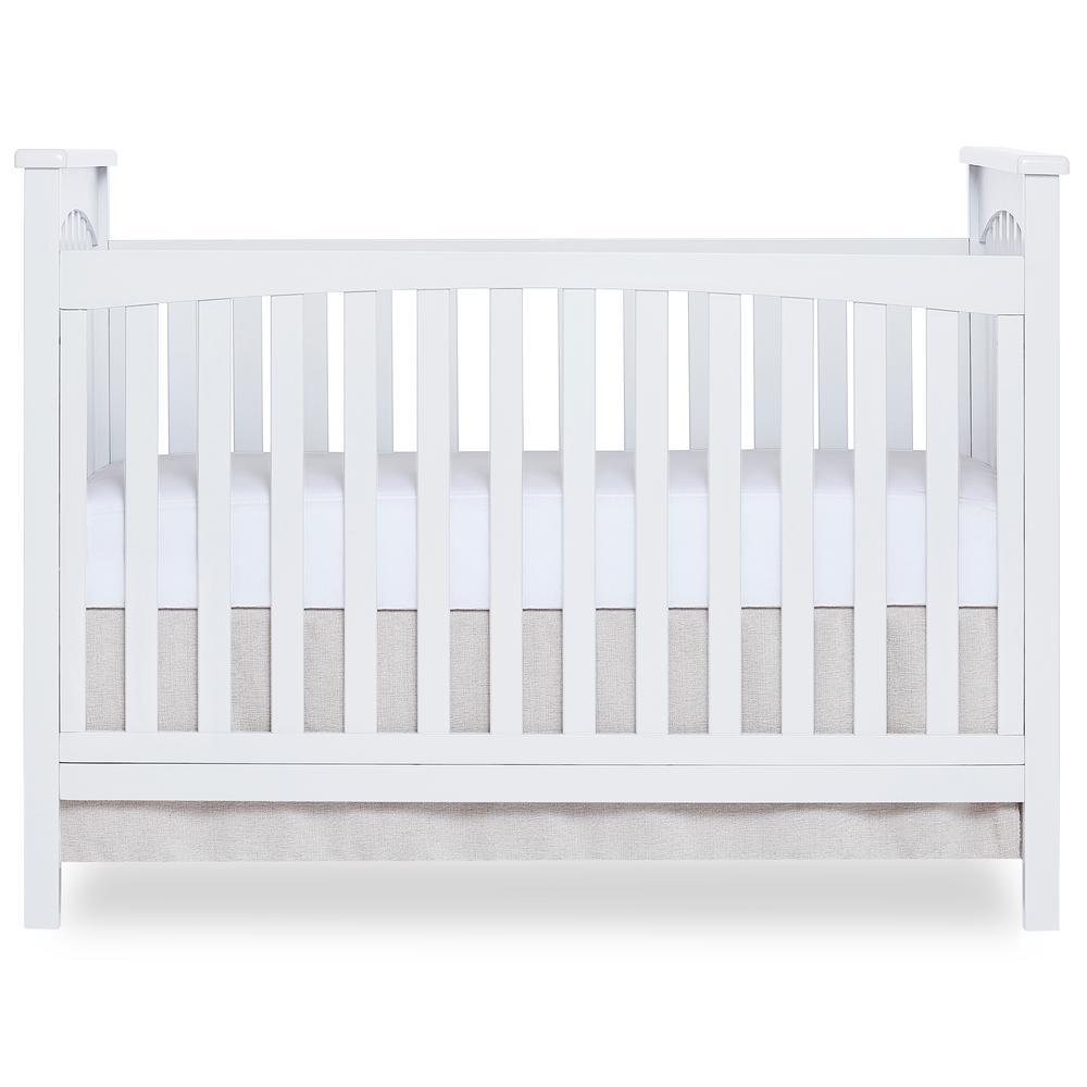 Dream On Me Synergy Black 5 In 1 Convertible Crib 657 K The Home Depot