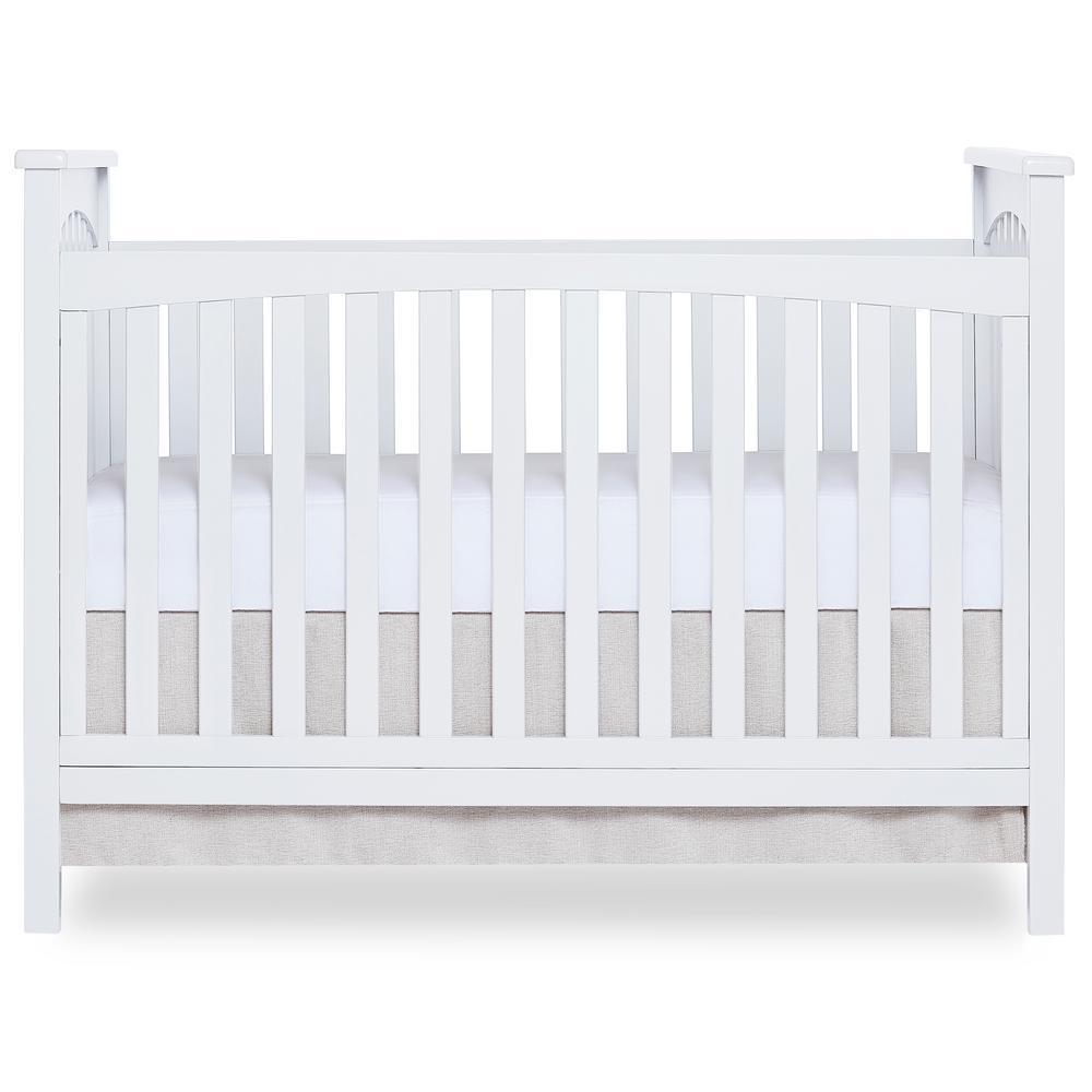 Dream On Me Cape Town White 5-in-1 Convertible Crib