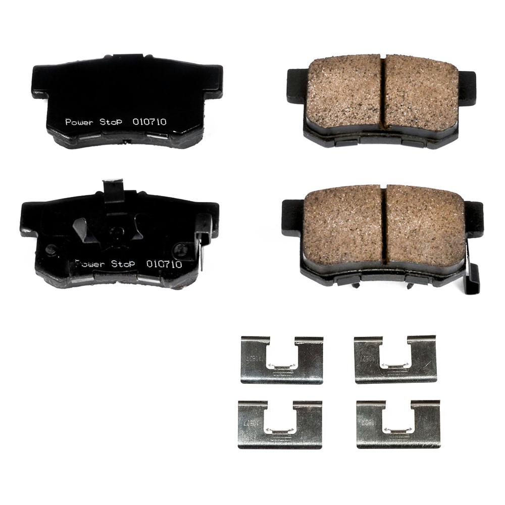 Disc Brake Pad Set-Z17 Evolution Plus Disc Brake Pad and Hardware Kit Rear