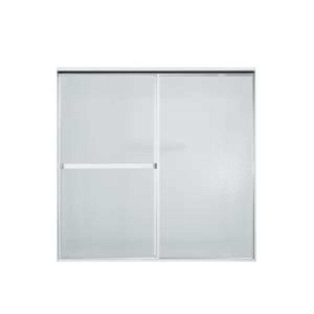 Sterling Standard 52 In X 56 7 16 Framed Sliding Tub