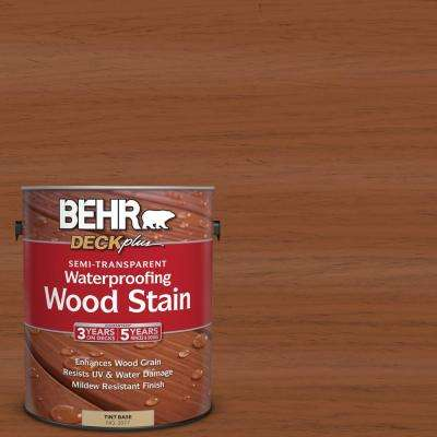 1 gal. #ST-122 Redwood Naturaltone Semi-Transparent Waterproofing Exterior Wood Stain