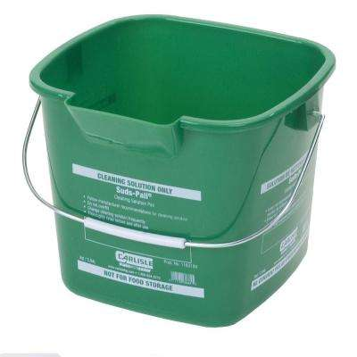 3 qt. Green Suds-Pail for Cleaning Solutions (12-Case)