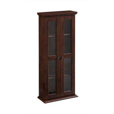 Traditional Brown Storage Cabinet