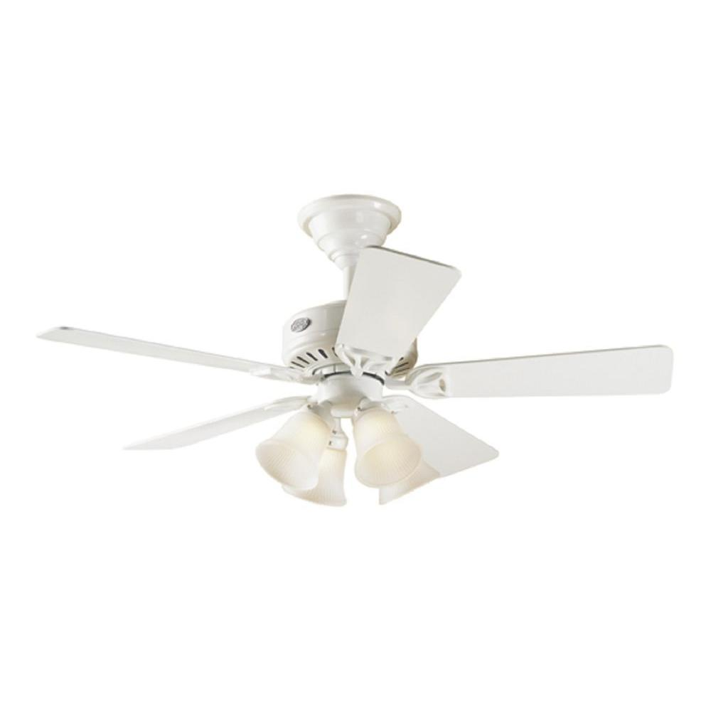 Hunter 44 in. The Continental White Ceiling Fan-DISCONTINUED