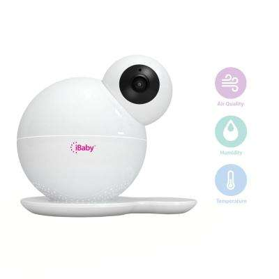 Monitor M6S 1080p Full HD Wi-Fi Smart Digital Baby Monitor for iOS and Android Air Quality Night Vision