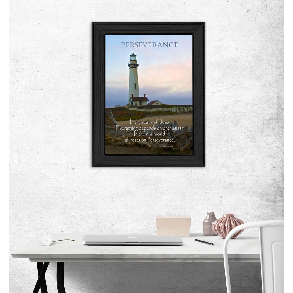 "14 in. x 10 in. ''Perseverance"" by Trendy Decor 4U Printed"