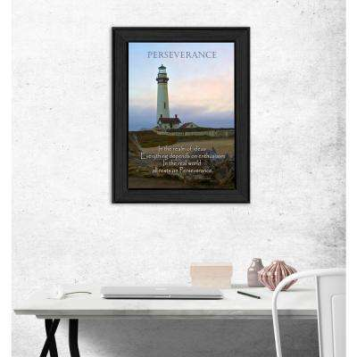 """14 in. x 10 in. ''Perseverance"""" by Trendy Decor 4U Printed Framed Wall Art"""