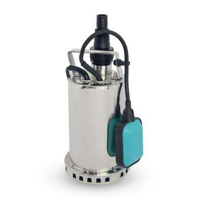 1 HP 900-Watt Stainless Steel Submersible Sump Pump